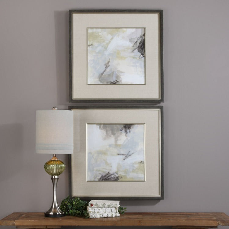 Abstract Vistas Framed Prints S/2 - taylor ray decor