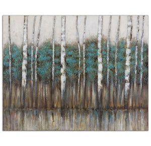 Edge Of The Forest Hand Painted Canvas - taylor ray decor