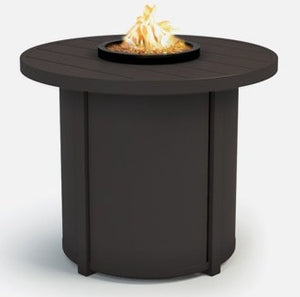 "Breeze 30"" Chat Fire Pit (Nova Aluminum Base) - taylor ray decor"