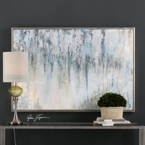 Overcast Abstract Hand Painted Canvas - taylor ray decor