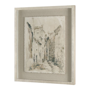 Alley Vintage Framed Print