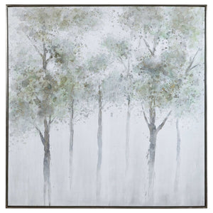 Calm Forest Hand Painted Canvas - taylor ray decor