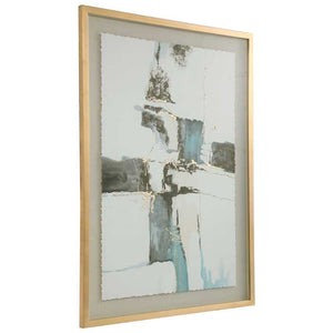 Crosswalk Abstract Framed Print