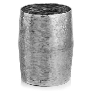 Barril Silver Barrel Stool/Planter