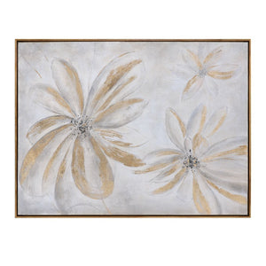 Daisy Stars Floral Art - taylor ray decor