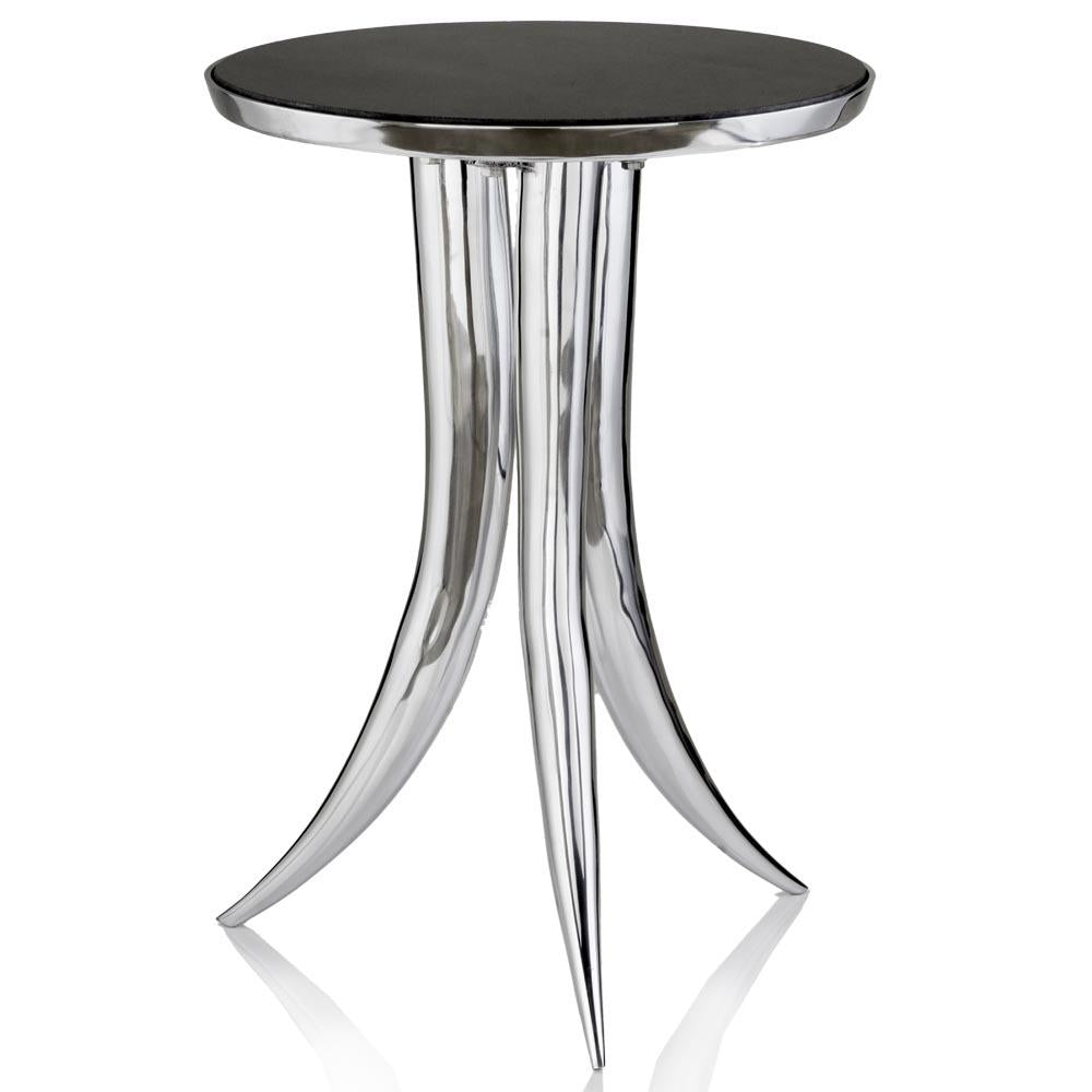 Cardo Table w/Black Marble Top