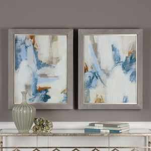 Intermittent Abstract Modern Art Set/2 - taylor ray decor