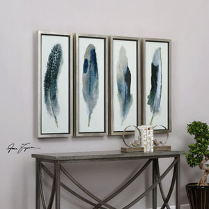Feathered Beauty Prints, S/4 - taylor ray decor