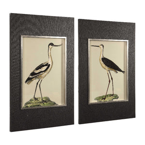 Birds On The Shore Framed Prints, S/2 - taylor ray decor