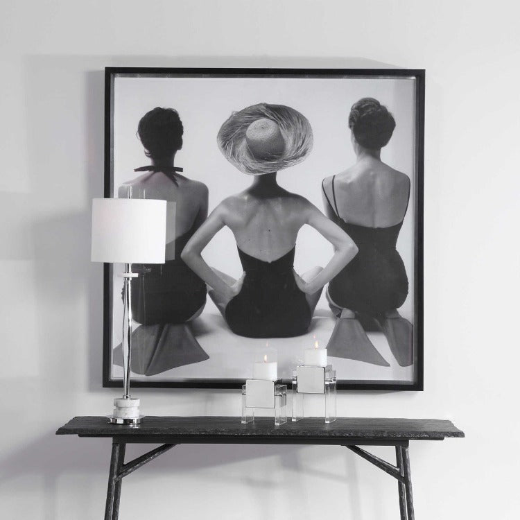 LADIES' SWIMWEAR, 1959 FRAMED PRINT