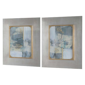 Gilded Whimsy Framed Prints, S/2 - taylor ray decor