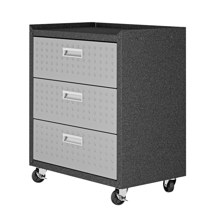 "Fortress 31.5"" Mobile Garage Chest with Drawers - taylor ray decor"
