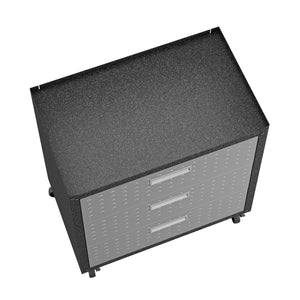 "Fortress 31.5"" Mobile Garage Chest with Drawers"