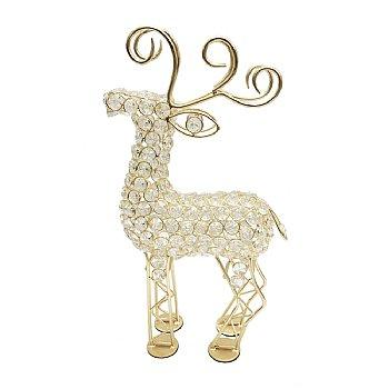 Reno Cristal Gold Reindeer - taylor ray decor
