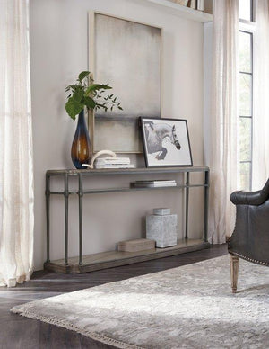 Woodlands Console Table w/ Metal
