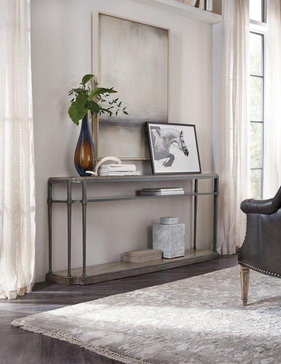 Woodlands Console Table w/ Metal - taylor ray decor