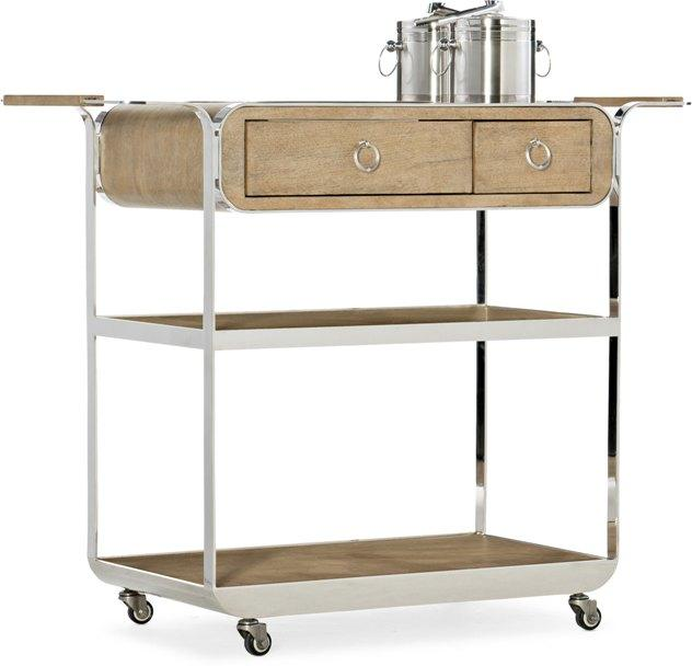Novella Poplar Beach Bar Cart