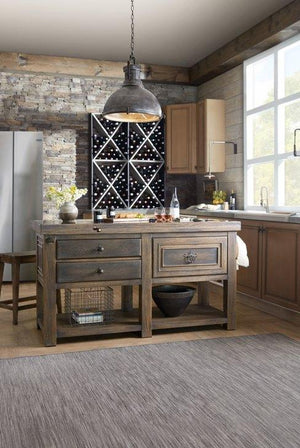 Hill Country Dripping Springs Kitchen Island