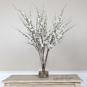 Quince Blossoms Silk Centerpiece - taylor ray decor