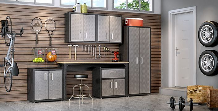 Fortress 6-Piece Garage Storage Set - taylor ray decor