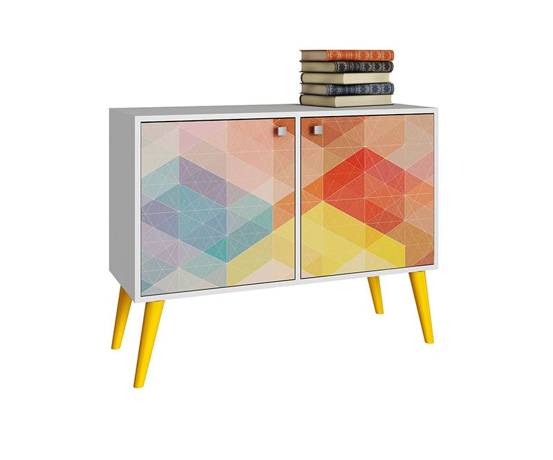 Avesta Double Side Table. 2.0 with 3 Shelves