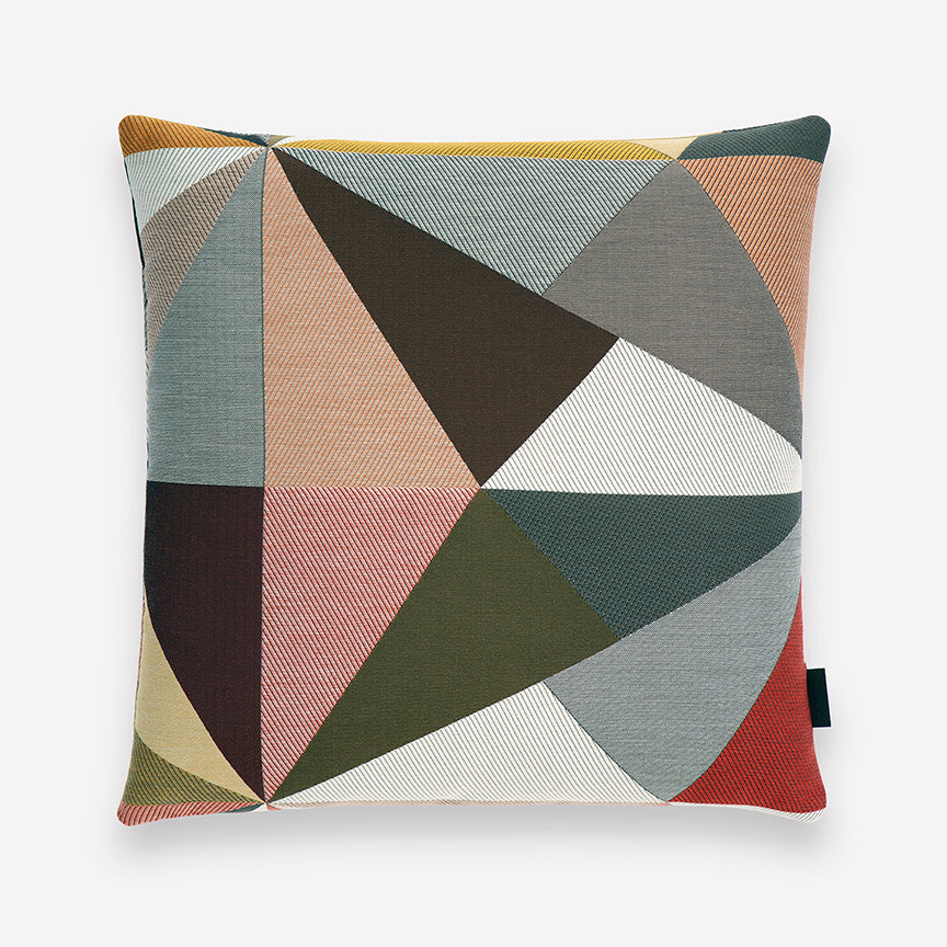 Angles Polyester & Cotton Pillow