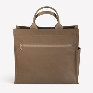 Scamp Bag in Khaki Cotton Canvas