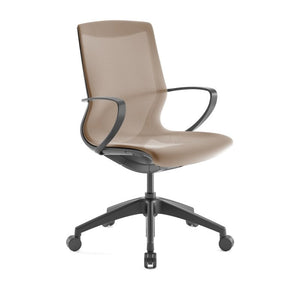 Pret Citrus Mesh Shell Executive Chair with Carbon Finish