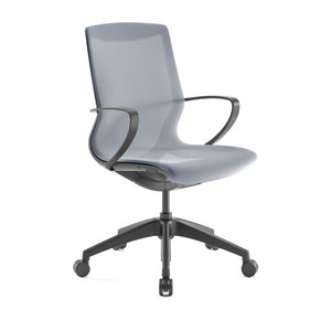Pret Ocean Mesh Shell Executive Chair with Carbon Finish