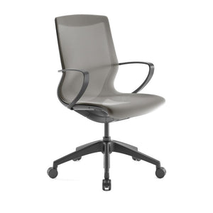 Pret Toast Mesh Shell Executive Chair with Carbon Finish