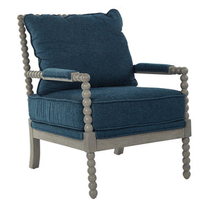 Abbot Classic Armchair in Blue