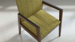Rein Wood Frame Side Chair