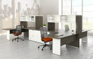 Contemporary Affordable Plan 10 Personal Workspace (contact us for specifications)