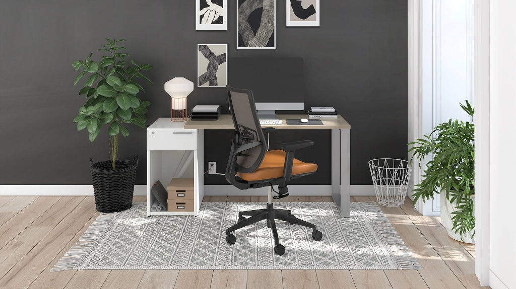 Contemporary Affordable Home Office Plan 01 Taylor Ray Decor