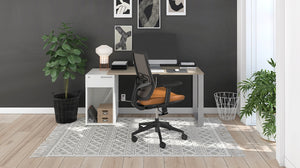 Contemporary Affordable Home Office Plan 01