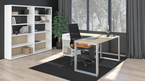 Contemporary Affordable Home Office Plan 02 (sold separately)