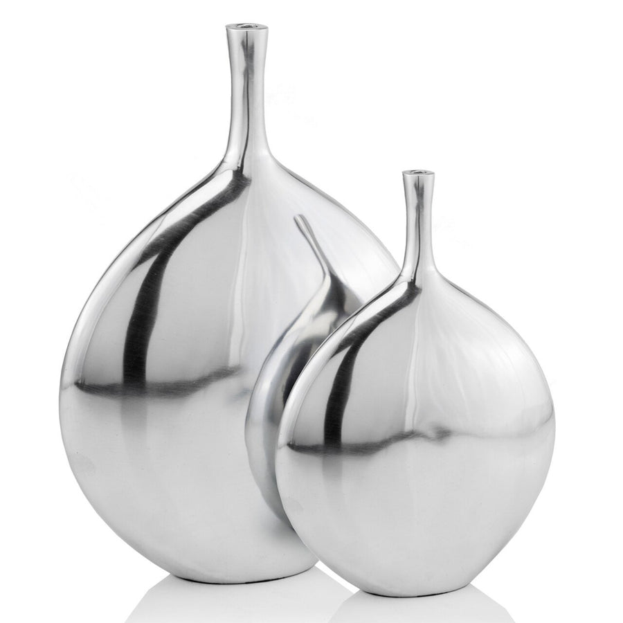 Cuello LG Long Neck Disc Vase