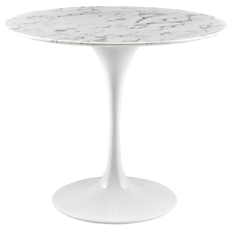 "Lippa 36"" Artificial Marble Top Dining Table - taylor ray decor"