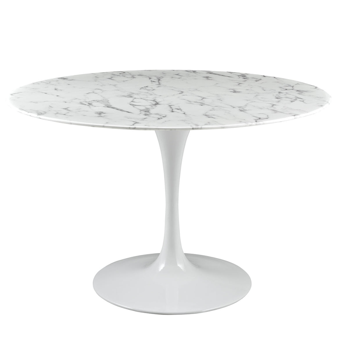 "Lippa 47"" Artificial Marble Dining Table"