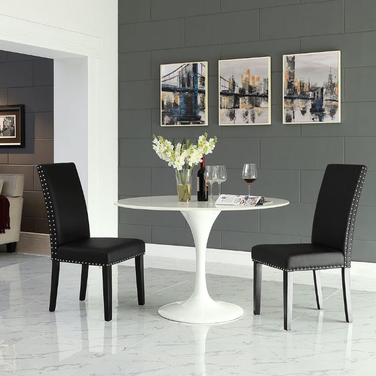 Parcel Dining Vinyl Side Chair - taylor ray decor