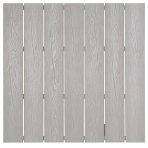 Light Gray Polywood Slats