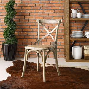 Gear Rustic Wood Dining Side Chair - taylor ray decor