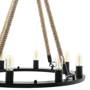 "Encircle 31.5"" Vintage Chandelier - taylor ray decor"