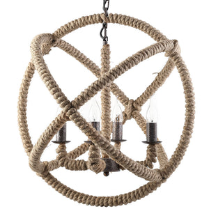 Intention Rope Chandelier - taylor ray decor