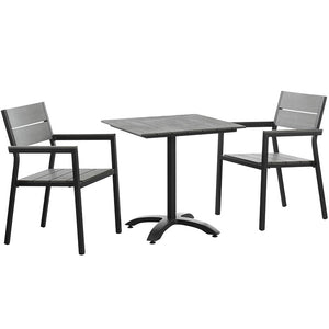 Maine 3-Piece Outdoor Patio Dining Set - taylor ray decor