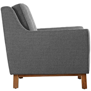 Beguile Upholstered Fabric Armchair - taylor ray decor