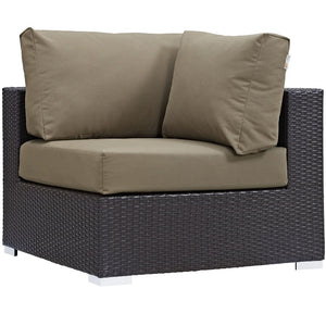 Convene Outdoor Patio Corner Lounge Chair
