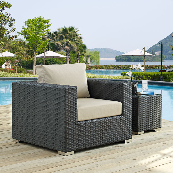Sojourn Outdoor Patio Armchair