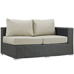 Sojourn Outdoor Patio Right Arm Loveseat