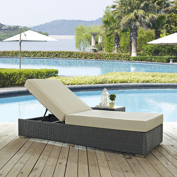 Sojourn Outdoor Patio Chaise Lounge